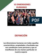 PPRESENTACIÓN DIMENSIONES HUMANAS
