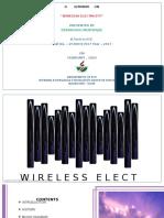 WITRICITY(wireless electricity)