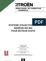 Citroen - Injection Hdi Siemens Sid 802 Moteur Dv4td