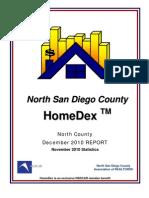HomeDex Report for December