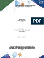 informe de practica    No 1 de microcontroladores y microprocesadores