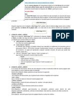 ESTRUCTURA BÁSICA DE UN DOCUMENTO DE HTML5