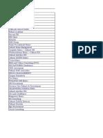 liste cabinet