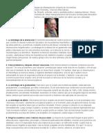 10 Estrategias Chomsky