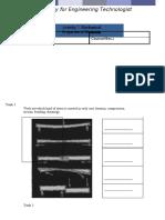 laboratory chet (mechanical properties of material)