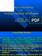 Financial appraisal of Project.ppt