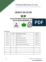 SK6813- EC20 LED Datasheet