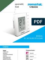 Romstal VVS30W termostat in doza
