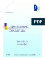 Essais nationaux complémentaires_Y. DESCANTES_LCPC