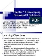 Developing Business/IT Solutions