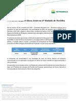 Petrobras adquire bloco Aram na 6ª Rodada de Partilha