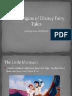 Dark Origins of Disney Fairy Tales