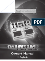 Time Bender Manual A