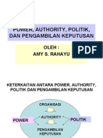 power ,politik, authority, dan pe