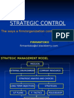 Strategic Control (Firmantoko)