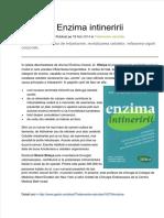 enzima-intineririi