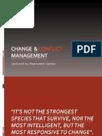 change & conflict
