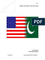 American Media Policy for Pakistan