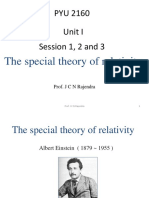 Unit I-Relativity Part 1