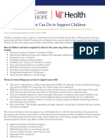Things You Can Do to Support Your Children
