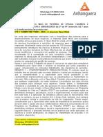 TGRH - 2°E 3° SEMESTRE - 2020 - A empresa Open Mind