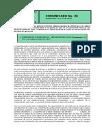 No. 35 comunicado 11 y 12 de septiembre de 2019 INSULTOS EN REDES SOCIALES