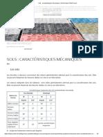 Sols _ caractéristiques mécaniques _ Saint-Gobain PAM France