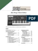 Moog Little Phatty ita - manuale