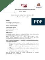 Laudo IQA+cloreto+dureza+acidez