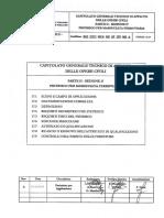Capitolato rete ferroviaria italiana RFI