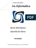 01-Introdução - Word 2010