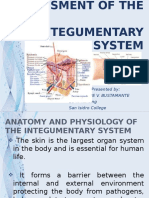 14. ASSESSMENT OF THE INTEGUMENTARY SYSTEM.pptx