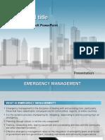 emergency management presentation