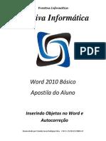 11-Inserindo Objetos no Word e Autocorreção
