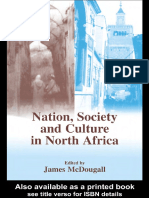 J. Mcdougall - Nation, Society and Culture in North Africa (Cass Series--History and Society in the Islamic World) (2003)