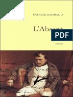 Patrick_Rambaud_-_L_39_absent