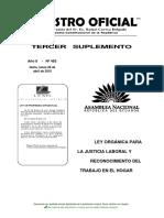 JUSTICIA LABORAL REGISTRO OFICIAL