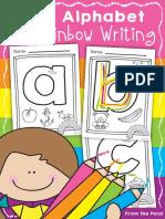 lettersofthealphabetrainbowwriting