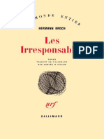 HERMANN, Broch. Les irresponsables