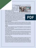 IMPACTO DEL COVID EN LAS ACTIVIDADES ECONOMICAS