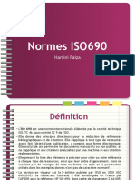 Les Normes ISO690