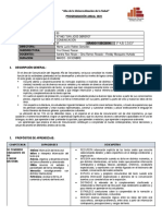 PROG. ANUAL 2020 - 2° COLEGIADO