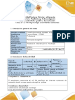 Guía de actividades y rúbrica de evaluación - Tarea 2 - El rol del psicólogo en diferentes contextos (1).doc