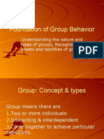 Foundation of Group Behavior