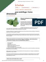 Bomba d'água centrifuga_ Como dimensionar - FazFácil
