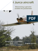 2020 Marcel Jurca Aircraft catalog for homebuild airplane enthousiasts