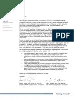 V-2. NCNA Letter