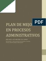 Informe de Actividades y Propuestas