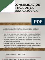 La consolidación política de la Iglesia católica.pptx