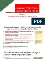 2018-06-20_Penyelarasan Prioritas Penggunaan Dana Desa